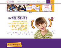 Website | Gênios Educacional