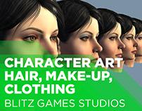 Blitz, Character Art (2006 - 2013)