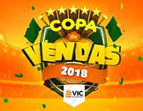 COPA DE VENDAS - 1ª Convenção VIC Engenharia