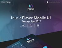 Bliss - Music player Mobile UI