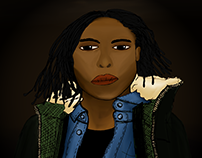 illustration   portrait, 2016