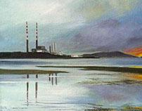 Poolbeg chimneys