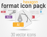 30 File Type Icon Set