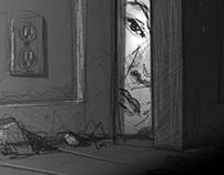 Horror Film - Animatic Storyboard