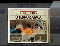 Infográfico O terror ataca