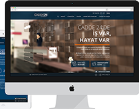 Cadde 24 Website