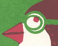 Ocell volador (silkscreen)