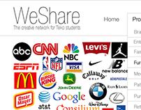 WeShare TEKO portfolio (koncept design)
