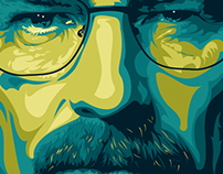 Breaking Bad Fan Art / Walter White / Jessie Pinkman