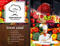Cook With Us - Cooking TV Show Pack (ae template)