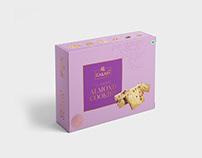 Kailash Sweets Cookies Packaging Design | Surat