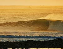 Golden Light Surfing