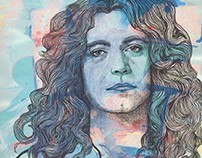 Led Zeppelin Portraits by T Braun Studio