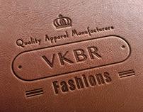 VKBR Fashions logo design by StartTall Branding