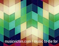 MusicVictim.com Facebook banner