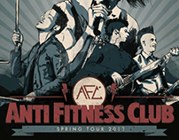 anti fitness club | spring tour '13
