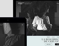 Orquesta y Coro Nacionales de España — Website