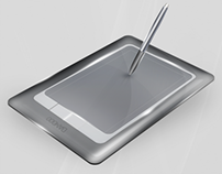 Tablet + pen Icon