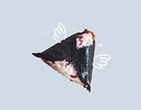 Omusubi Gonbei - branding