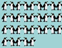 77 Penguins - environmental campaign