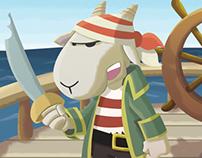 Pirate Goat