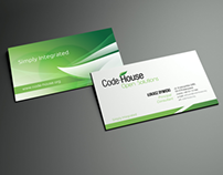 Corporate identity for Code-House company