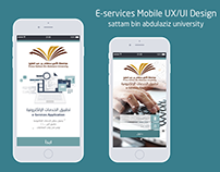 E-services mobile UX / UI Design