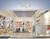 Shop concept for chain of stores SHOES.RU