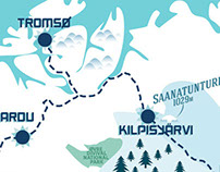 Print - Arctic Roadtrip Map