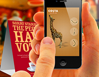 "Costa caffee egypt mini mobile games ""concept"""