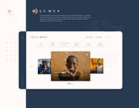 Lu-Mun Corporative Website Design