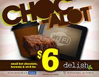 Chocolate Filled Cafe Promo Redesign