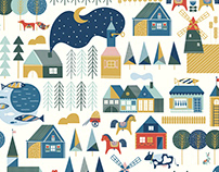 Scandinavian Adventure pattern collection