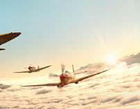 Supermarine Spitfires hunt