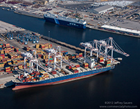 Port of Baltimore Seagirt Terminal Aerial Photography