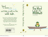 The Wind in the Willows Book Cover Design