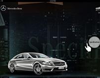 Mercedes CLS class- iPAd application