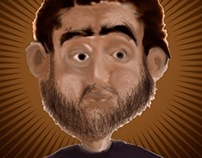 character Illustration - Peter Pumpkinhead