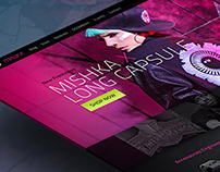 Mishka Website Concept