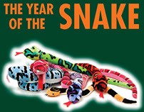 The Explore & More Store Year of the Snake Theme