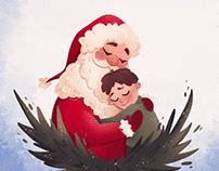 Tyler B Leaves. Children's book illustration