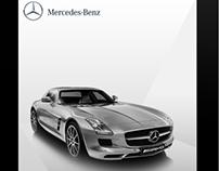 iPad Concept for Mercedes-Benz India