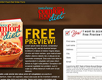 Taste of Home Comfort Food Diet Landing Page