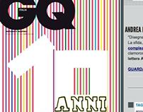 Concorso GQ ITALIA - 10 anni di storie...