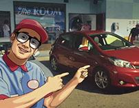 "Toyota ""Gadget Guy vs. Yaris"""