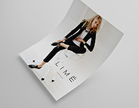 Lime. Guidelines for apparel brand.