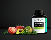 NeoLiva - 3d Product Visualization | Package Design