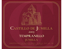 Spanish Wine Label Castillo De Jumilla