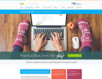 IXL Home page redesign project