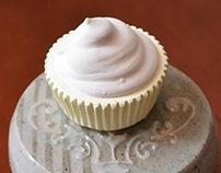 Slip Trailed Cupcake Stand